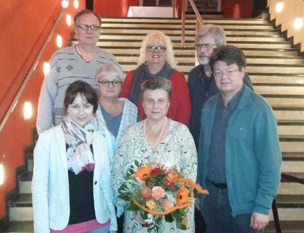 Vostandsmitglieder der Regionalgruppe Ostbayern